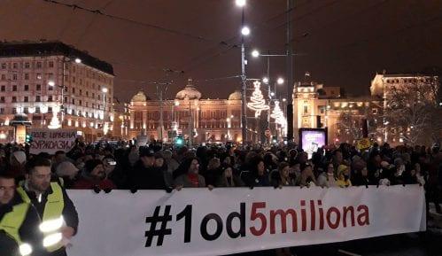 """Organizatori protesta """"Jedan od pet miliona"""" traže sastanak sa direktorom RTS 4"""