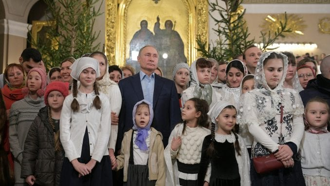 Održane božićne liturgije u Rusiji i Egiptu 2