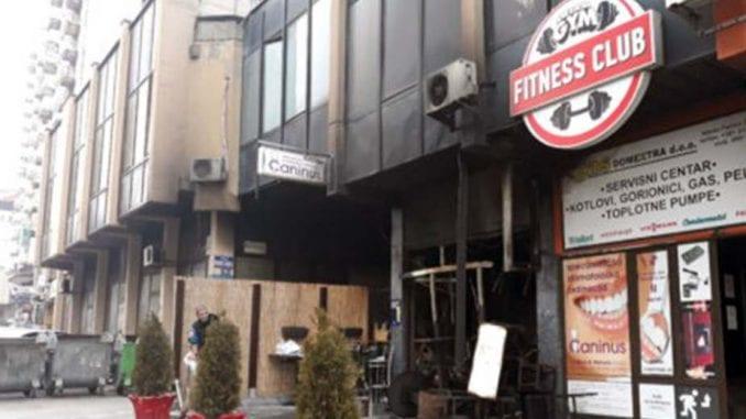 Izgoreo kafić u Užicu 2