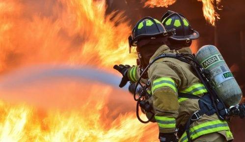 Požar u fabrici raketa i svemirske opreme u sibirskom gradu Krasnojarsku 9