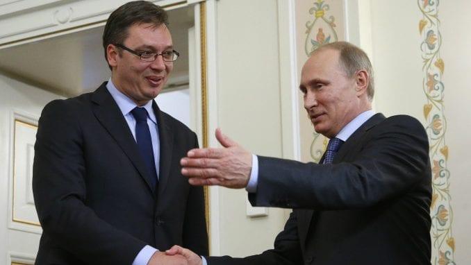 Vučić nije dobio najviše odličje od Putina 1
