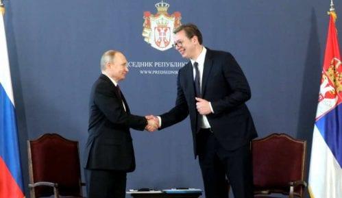 Kremlj: Putin razgovarao sa Vučićem o Kosovu 10