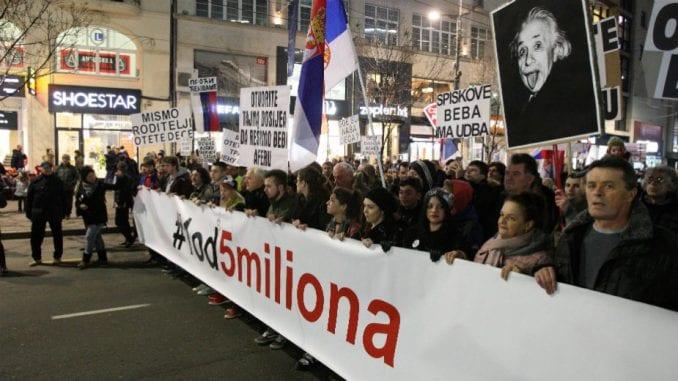 "Skupovi podrške protestima ""1 od 5 miliona"" večeras u Pragu i Beču 1"