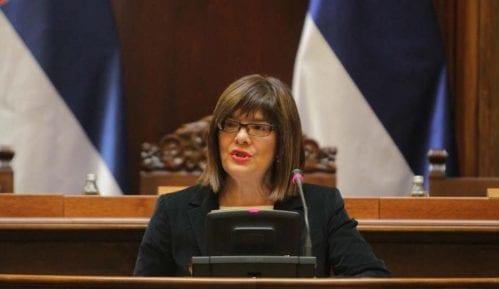 Gojković pozvala sve političke aktere da dođu na drugu rundu razgovora 1