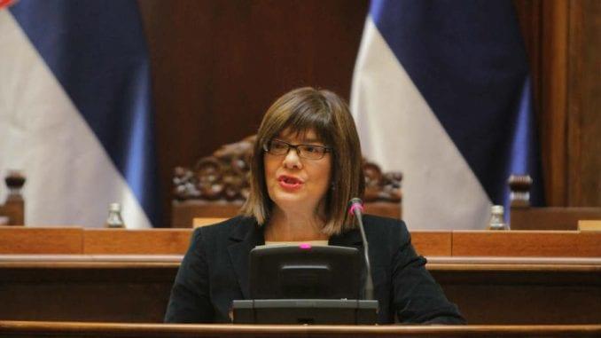 Gojković: Ova sednica bila prilika da se poslanici vrate u salu i iznesu svoj stav o Vojvodini 1