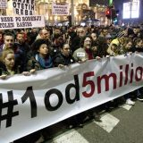 """Protest """"1 od 5 miliona"""" prvi put u Knjaževcu, 14. februara 13"""