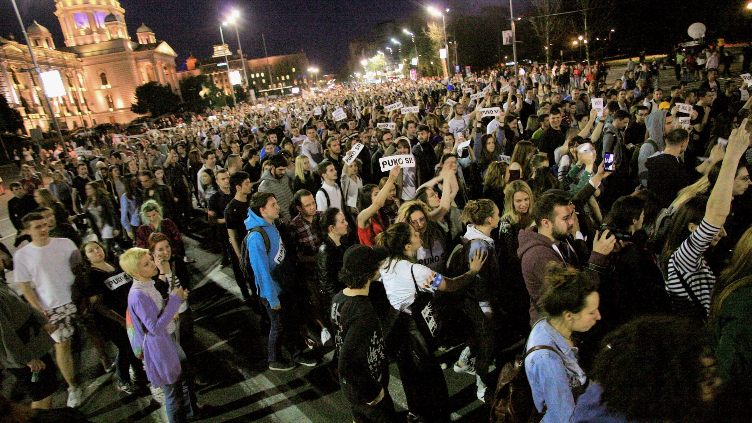 """Studenti FDU oslobođeni optužbi da su organizovali """"Proteste protiv diktature"""" 1"""