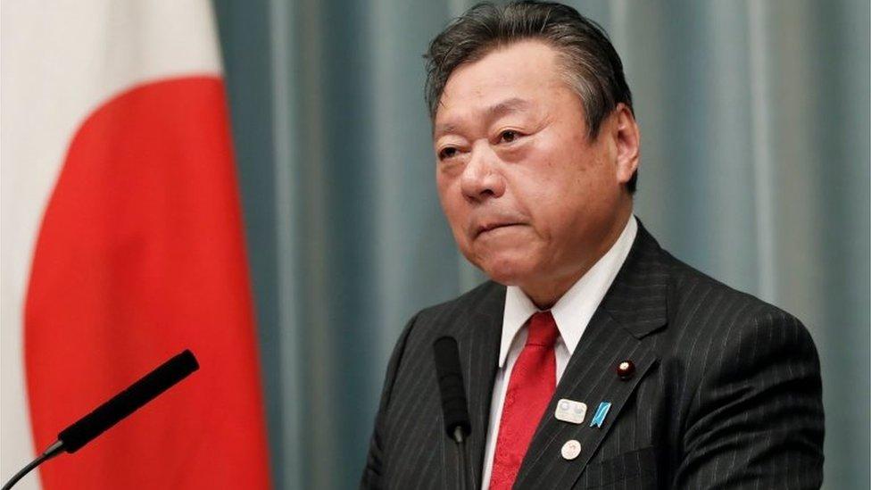 Yoshitaka Sakurada (file picture)