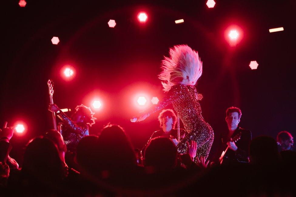 Lejdi Gaga na dodeli Gremija