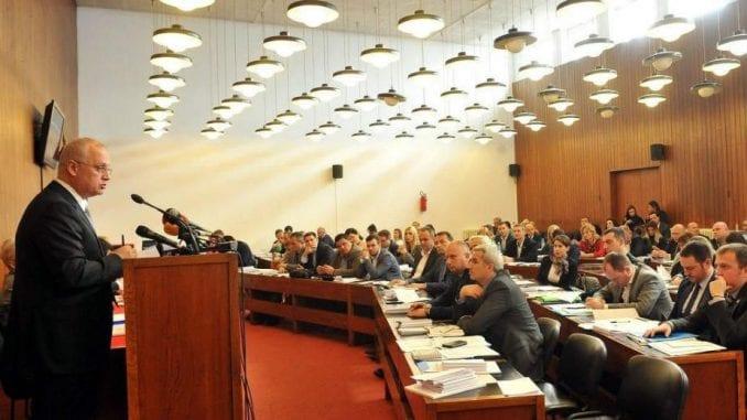 Sutra zasedanje Skupštine grada Beograda 1