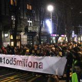 """Vidojković na protestu """"1 od 5 miliona"""": Građani su Vučićevi taoci (FOTO, VIDEO) 2"""