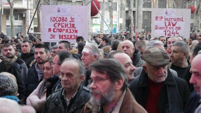 Beograd: Više stotina građana na skupu Zaustavimo veleizdaju Kosova 4