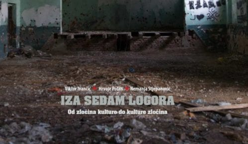 """Promocija monografije """"IZA SEDAM LOGORA: Od zločina kulture do kulture zločina"""" 8"""