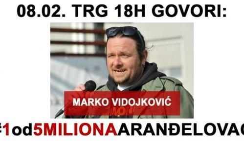 1 od 5 miliona: U subotu govori Marko Vidojković, studenti šetaju do Platoa 1