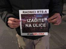 """Vidojković na protestu """"1 od 5 miliona"""": Građani su Vučićevi taoci (FOTO, VIDEO) 6"""