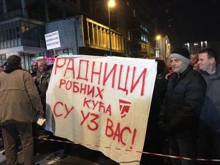 """Vidojković na protestu """"1 od 5 miliona"""": Građani su Vučićevi taoci (FOTO, VIDEO) 4"""