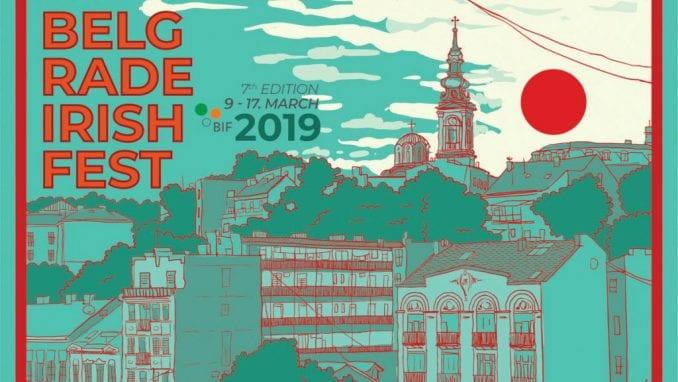 Sedmi Beogradski irski festival u martu 1