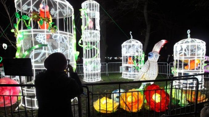 Kineski festival svetlosti otvoren na Kalemegdanu 1