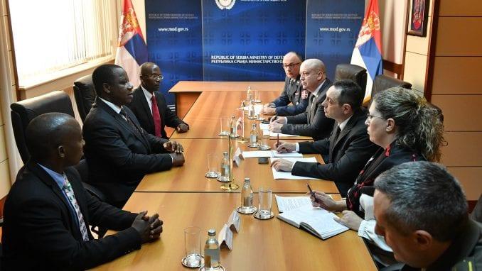 Saradnja Burundija i Srbije u odbrani 4