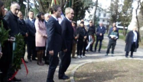Bingulac i Selaković položili venac na spomenik Karađorđu u Podgorici 2
