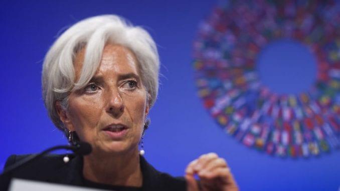 Lagard podnela ostavku na mesto izvršne direktorke MMF-a 1