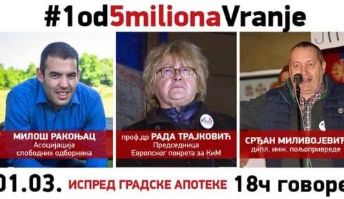 Rada Trajković sutra na šestom protestu u Vranju 4