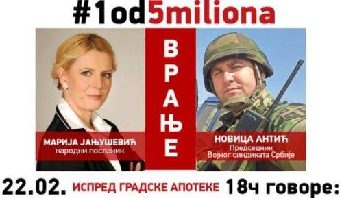 Peti protest #1od5miliona u Vranju 8