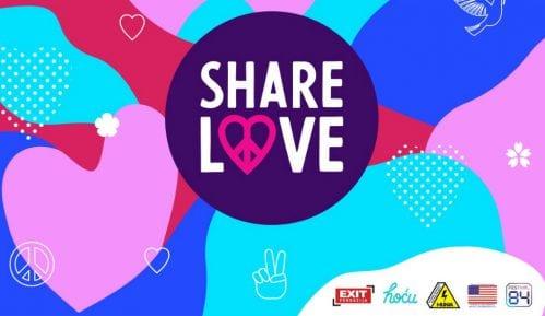 Poruke tolerancije i ljubavi nagrađuju se ulaznicama za festivale 8