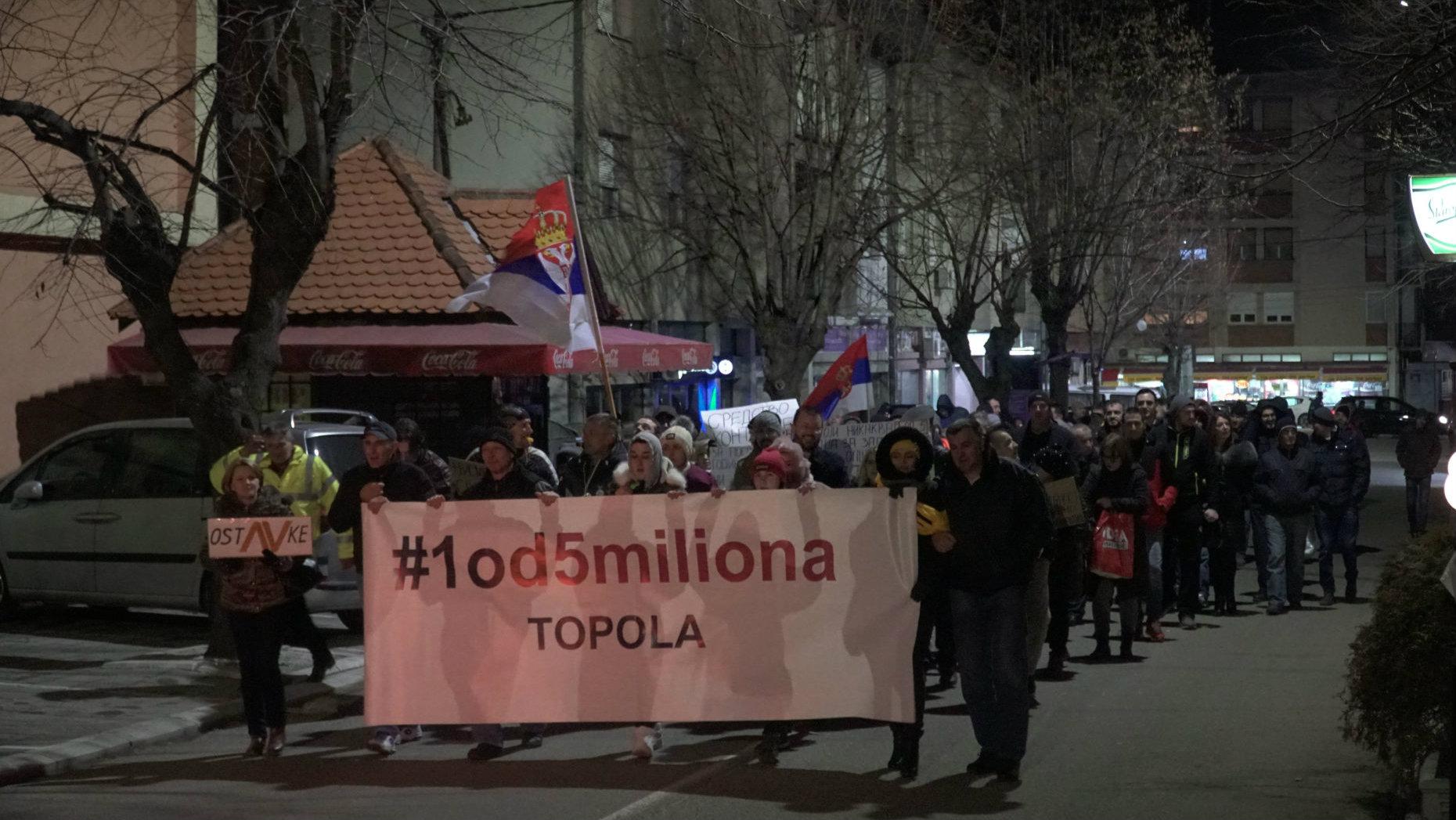 Nastavljeni protesti u Srbiji (VIDEO) 3
