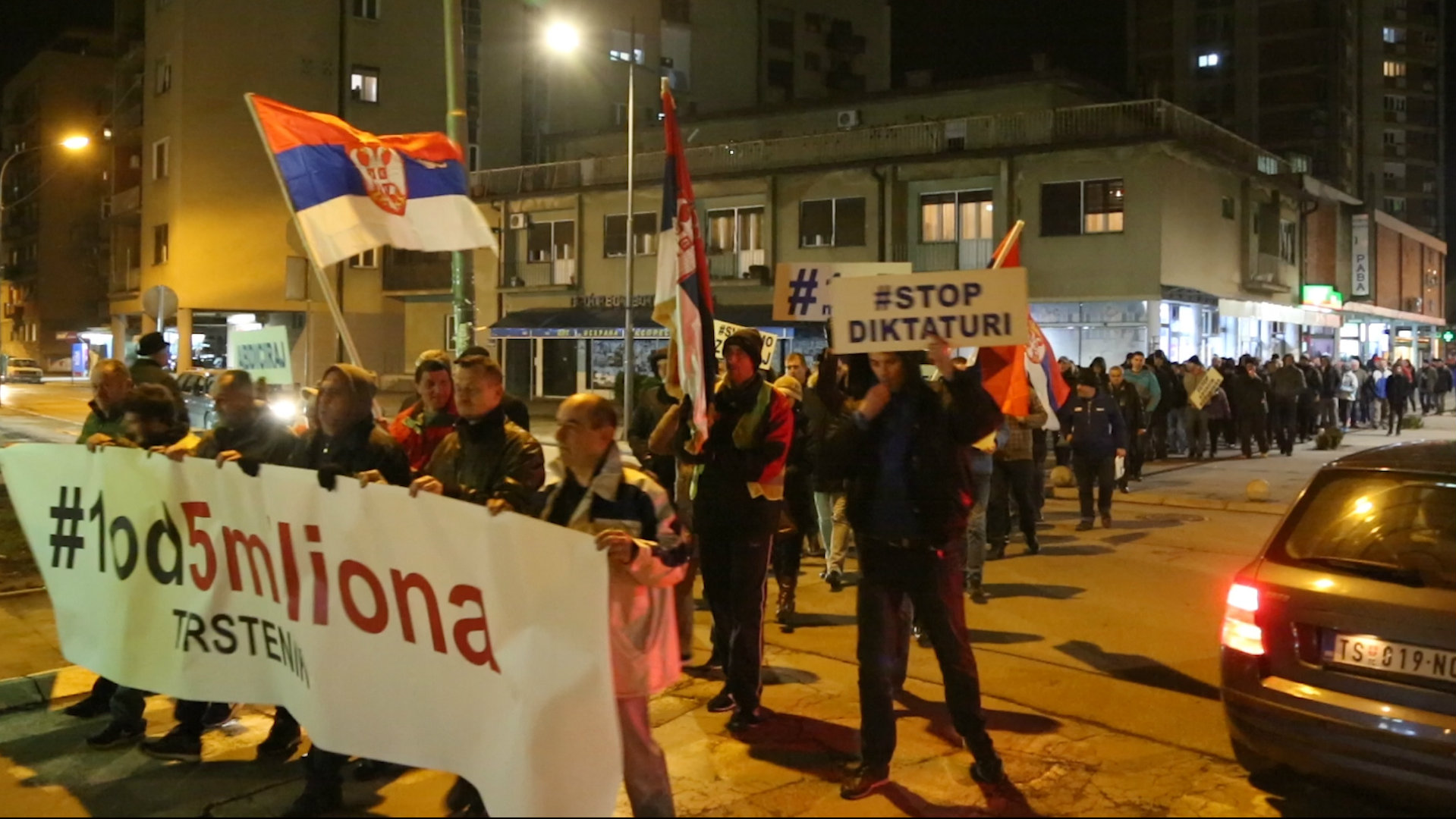 Protesti u Zrenjaninu, Trsteniku, Kuršumliji i Negotinu 5