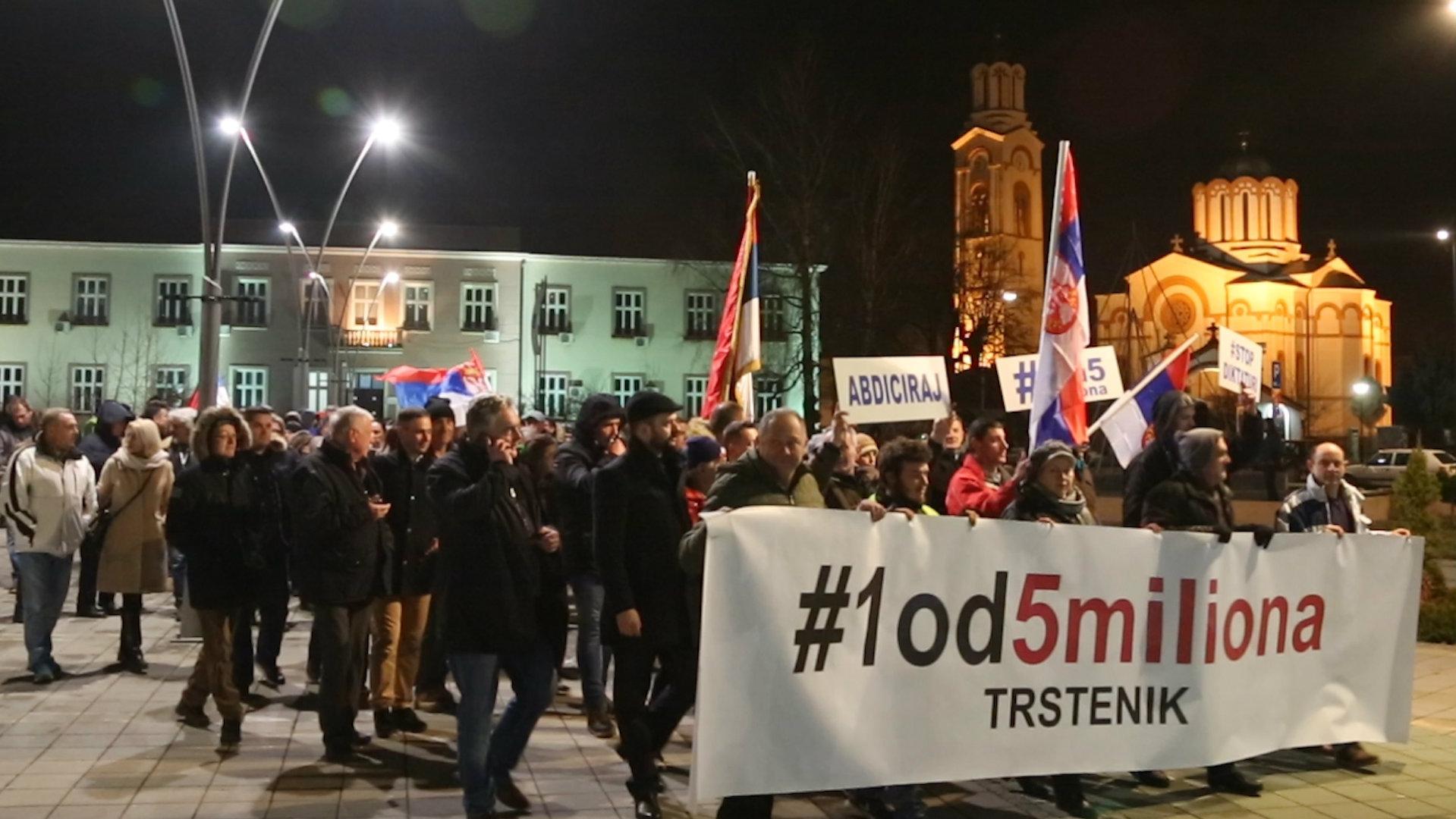Protesti u Zrenjaninu, Trsteniku, Kuršumliji i Negotinu 7