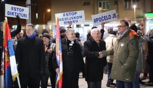 Nastavljeni protesti u Srbiji (VIDEO) 5