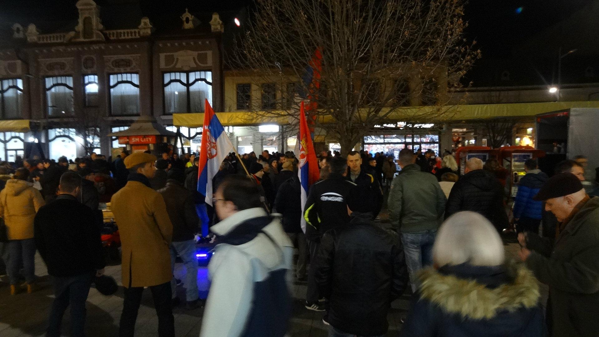 Nastavljeni protesti u Srbiji (VIDEO) 2