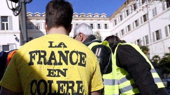 U Tuluzu 17 osoba privedeno na protestu Žutih prsluka 3