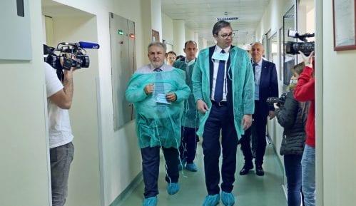 Građanski preokret: Vučić da ne obilazi pacijente tokom sezone gripa 1