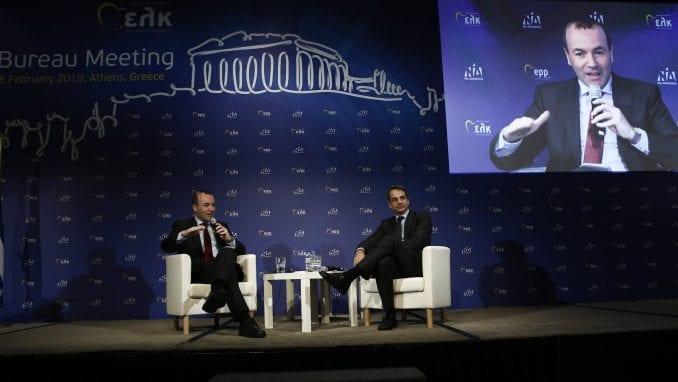 Lider EPP kritikuje Grčku zbog odnosa prema krizi u Venecueli 1