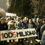 """Vidojković na protestu """"1 od 5 miliona"""": Građani su Vučićevi taoci (FOTO, VIDEO) 12"""