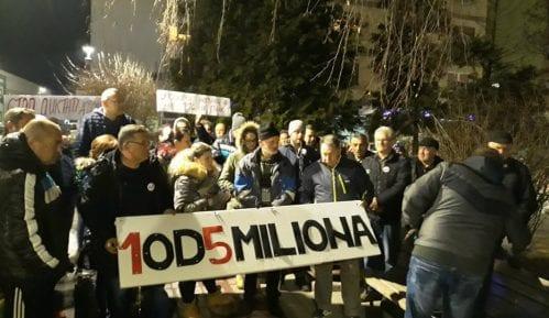 """U Kniću održan prvi protest """"Jedan od pet miliona"""" 12"""