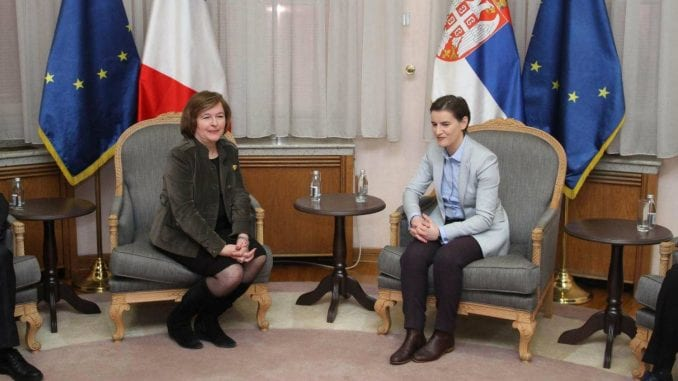 Brnabić sa Loazo: Srbija ostaje posvećena EU integracijama 1