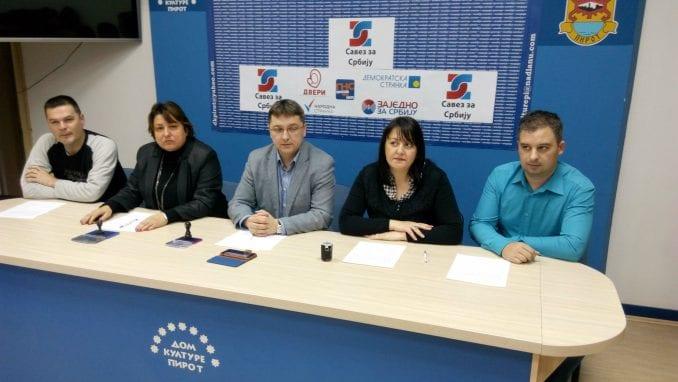 Formiran Savez za Srbiju u Pirotu 1