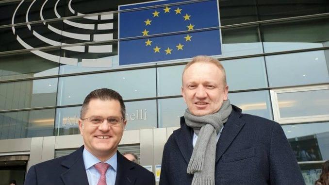 Jeremić i Đilas sa evropskim zvaničnicima u Briselu: Režim je izgubio legitimitet 1