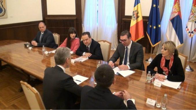 Vučić za bolje odnose sa Moldavijom 1