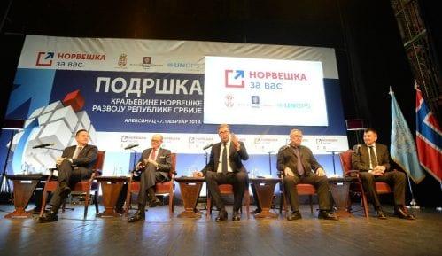 Vučić: Hvala Norveškoj na velikoj pomoći u novcu i projektima 8
