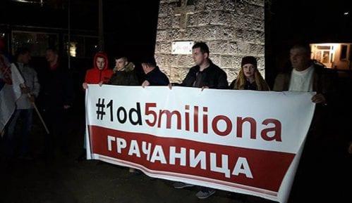 Protest Jedan od pet miliona u Gračanici 5