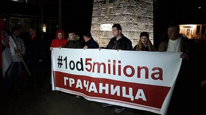 Protest Jedan od pet miliona u Gračanici 1