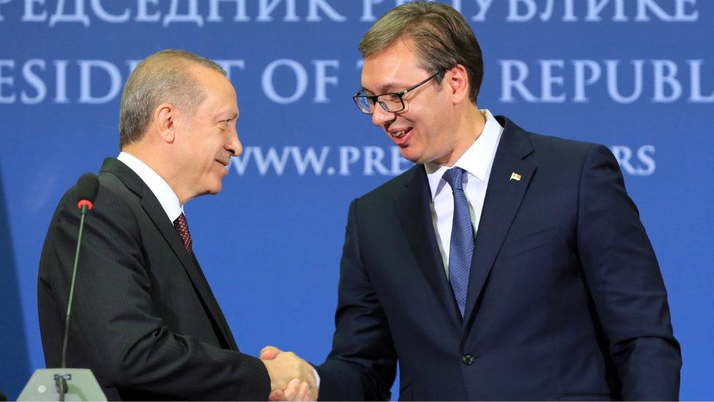 Vučić telefonom čestitao Erdoganu 67. rođendan 1
