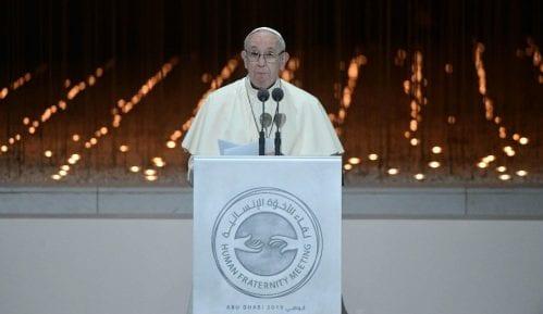 Papa Franja potresen zbog pretvaranja Aja Sofije u džamiju 2