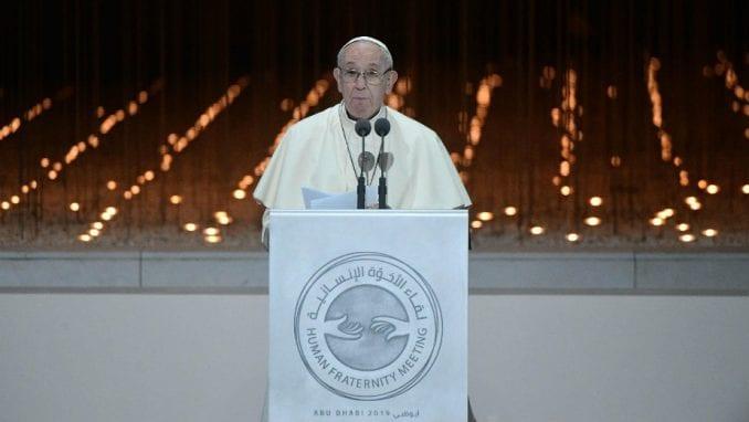 Papa Franja potresen zbog pretvaranja Aja Sofije u džamiju 4