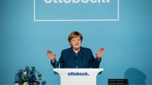 Ovacije za spontani govor Angele Merkel o svetskom poretku 2
