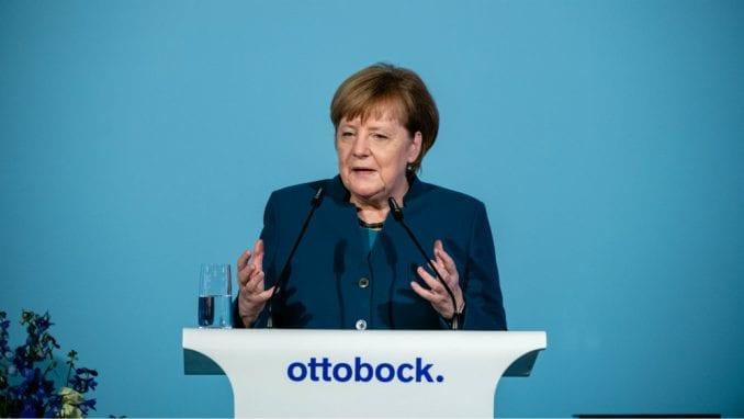 Ovacije za spontani govor Angele Merkel o svetskom poretku 3